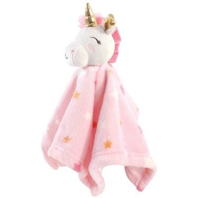 Luvable Friends Unisex Baby Unicorn Themed Baby Bedding Set - Unicorn Security Blanket One Size