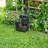 """27"""" Polyresin Water Barrel Fountain - Copper - Backyard Expressions - image 3 of 3"""