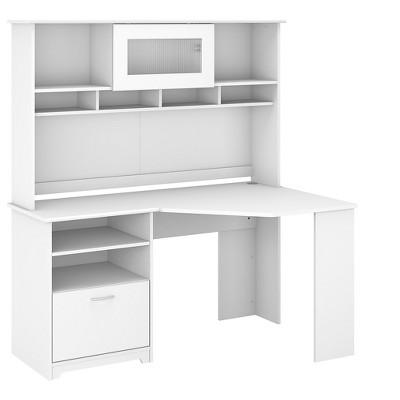 Bush Furniture Cabot Corner Desk with Hutch