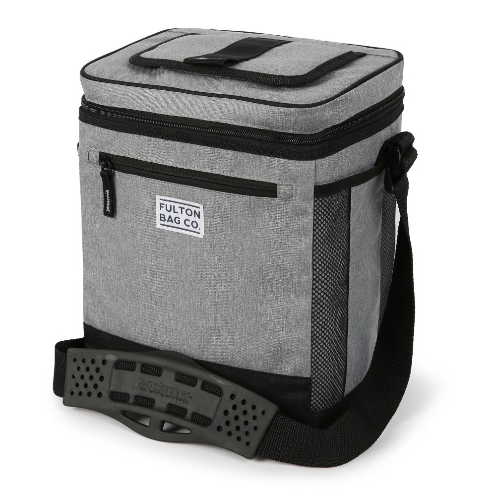 Image of Fulton Bag Co. 12qt Can Cooler with Liner - Gray