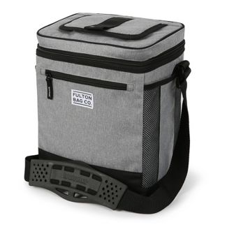 Fulton Bag Co. 12 Can Cooler with Liner - Gray