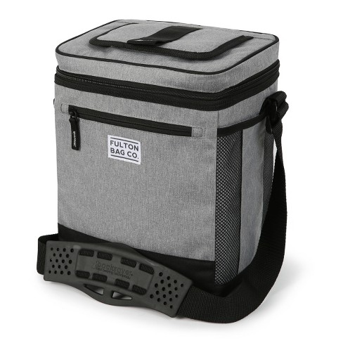 Fulton Bag Co. 12 Can Cooler with Liner - Gray - image 1 of 4