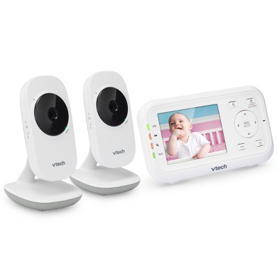 VTech VM3252-2 Video Baby Monitor with 2 Cameras 2.8""