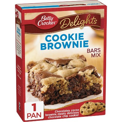 Baking Mixes: Betty Crocker Cookie Brownie Bars Mix