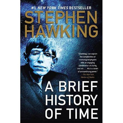 A Brief History of Time - by  Stephen Hawking (Hardcover)