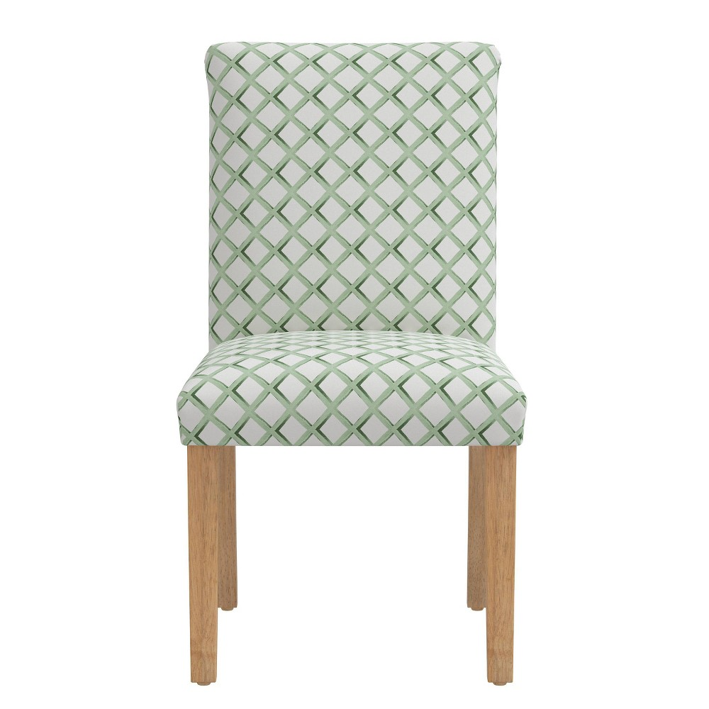 Dining Chair Lattice Sage Skyline Furniture