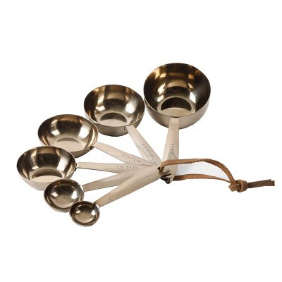 Cravings by Chrissy Teigen Stainless Steel Gold Measuring Cups