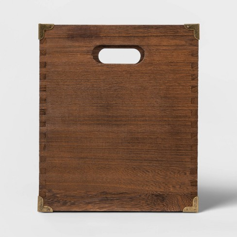Wood File Holder - Threshold™ - image 1 of 3