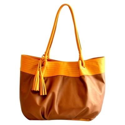 Khataland Carryall Yoga Bag - Brown/Gold