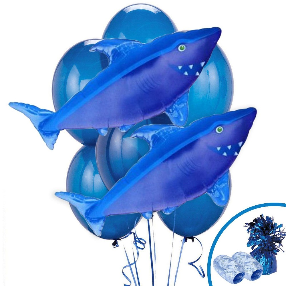 Shark Jumbo Balloon Kit, Multi-Colored