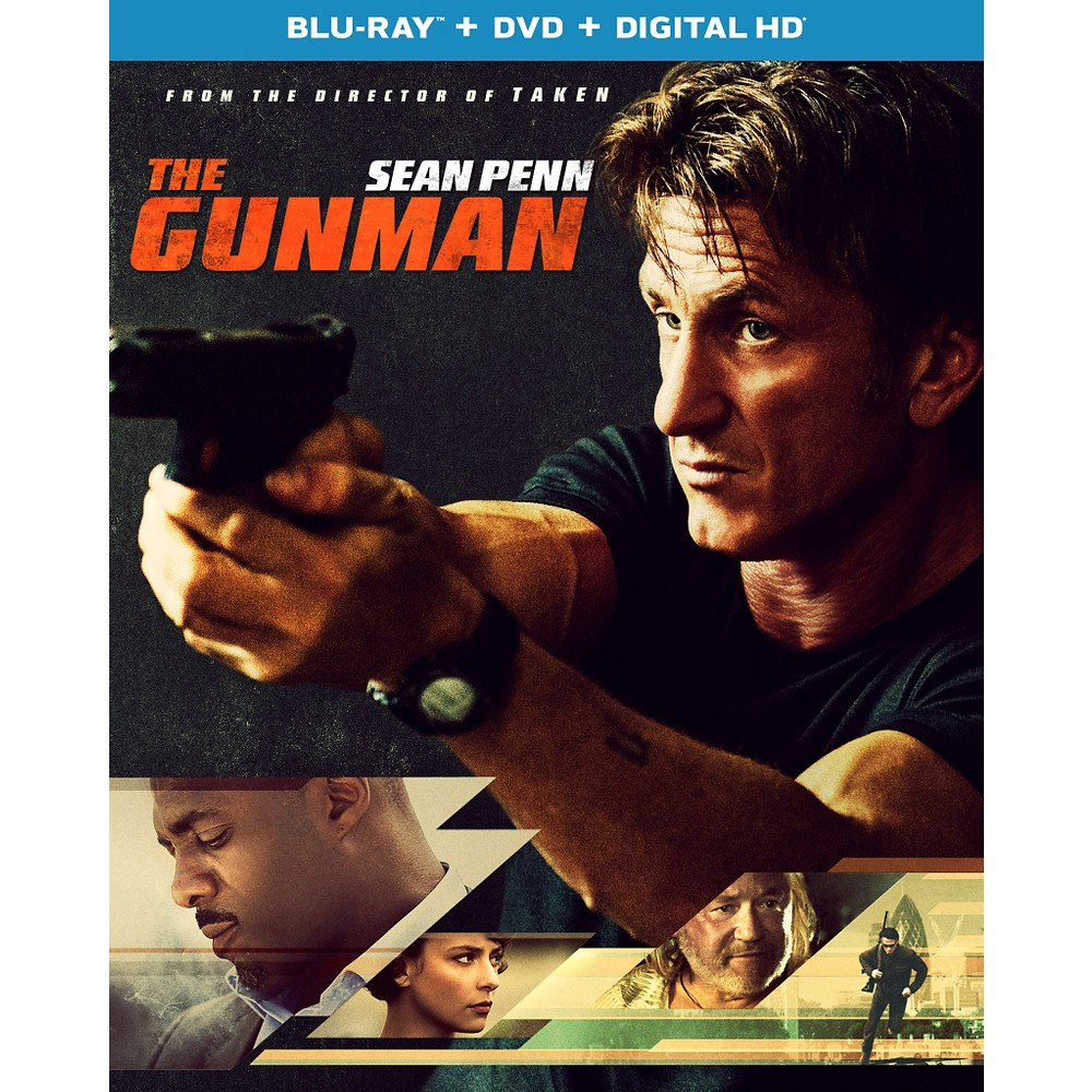 The Gunman (2 Discs) (UltraViolet) (With Digital Copy) (Blu-ray/Dvd)