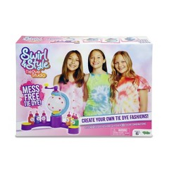 Swirl & Style Tie Dye Studio Activity Kit