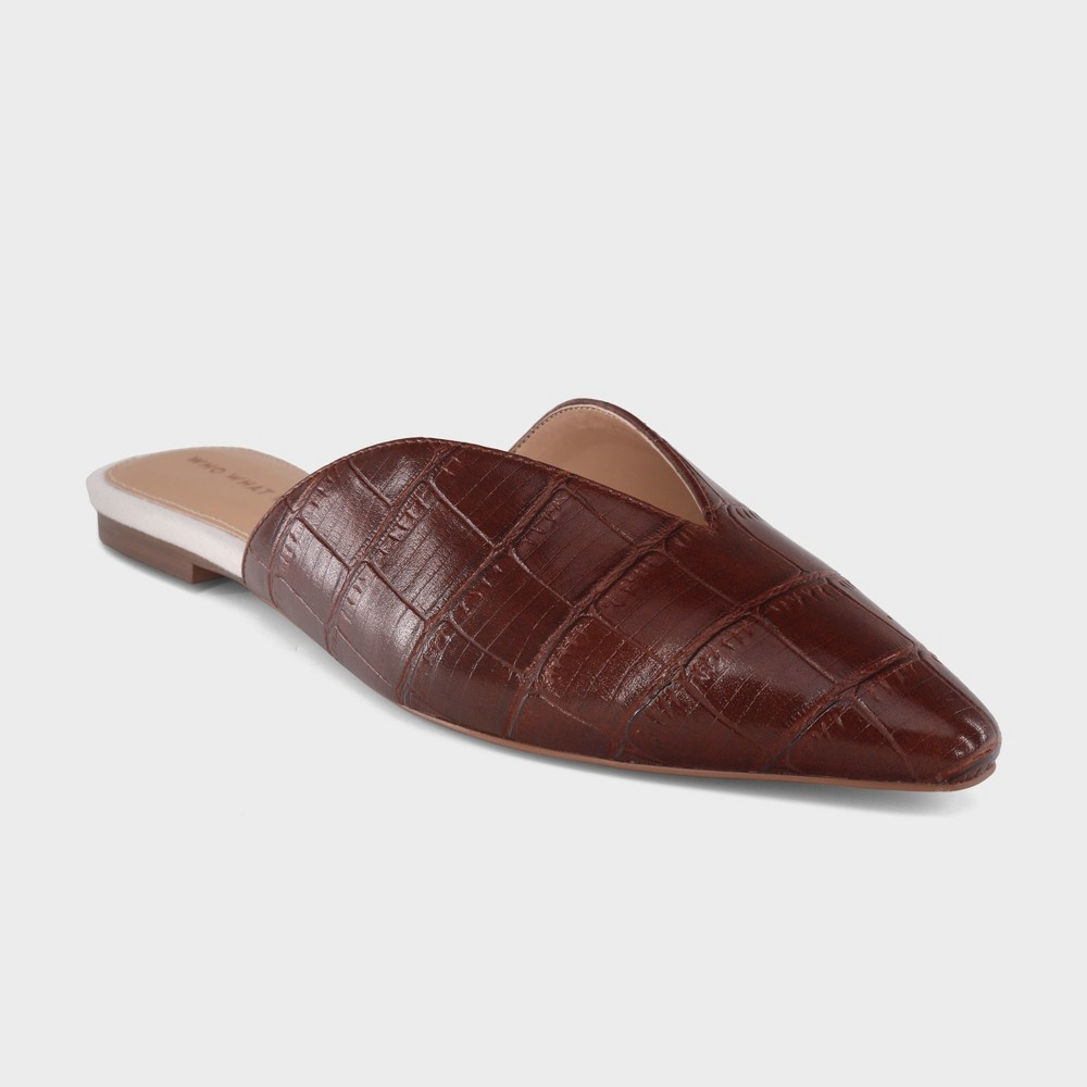 Women's Jocelyn Mules - Who What Wear Brown 6.5
