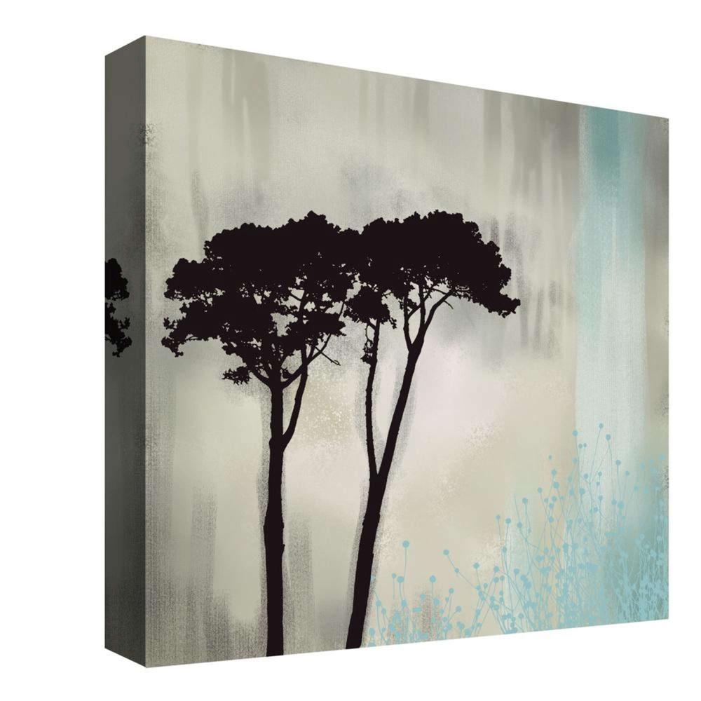 Twin Trees Decorative Canvas Wall Art 16