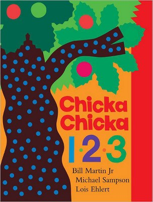 Chicka Chicka 1, 2, 3: Lap Edition (Illustrator)(Board)by Bill Martin Jr., Michael Sampson, Lois Ehlert
