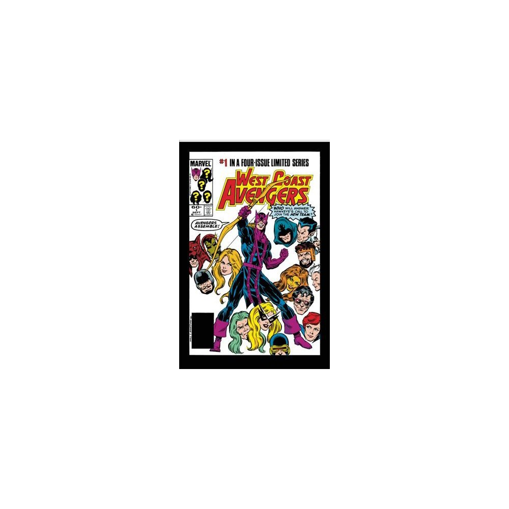 Avengers West Coast Epic Collection - How the West Was Won 1 - (Paperback)