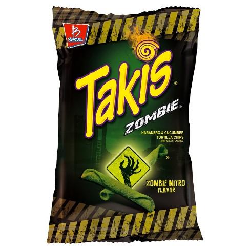 Barcel Takis ZombieHabanero & Cucumber Tortilla Chips - 9.9oz - image 1 of 1
