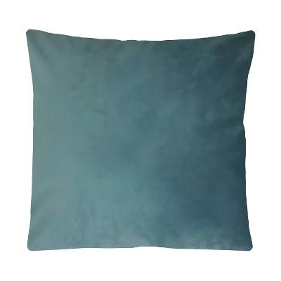 "17""x17"" Luxe Velvet Square Throw Pillow - Edie@Home"