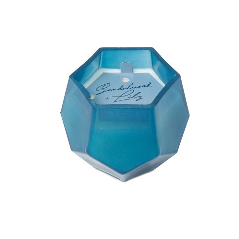 5oz Gem Glass Jar Candle Sandalwood & Lilly - Project 62™ - image 1 of 2