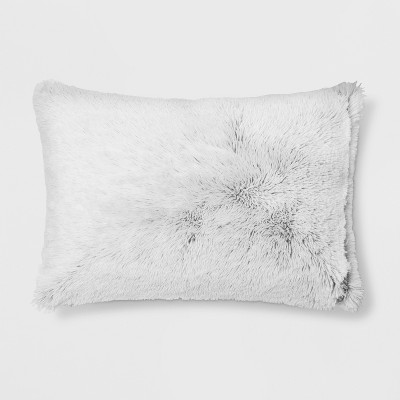 Textured Pillowcase (Standard)Black - Room Essentials™