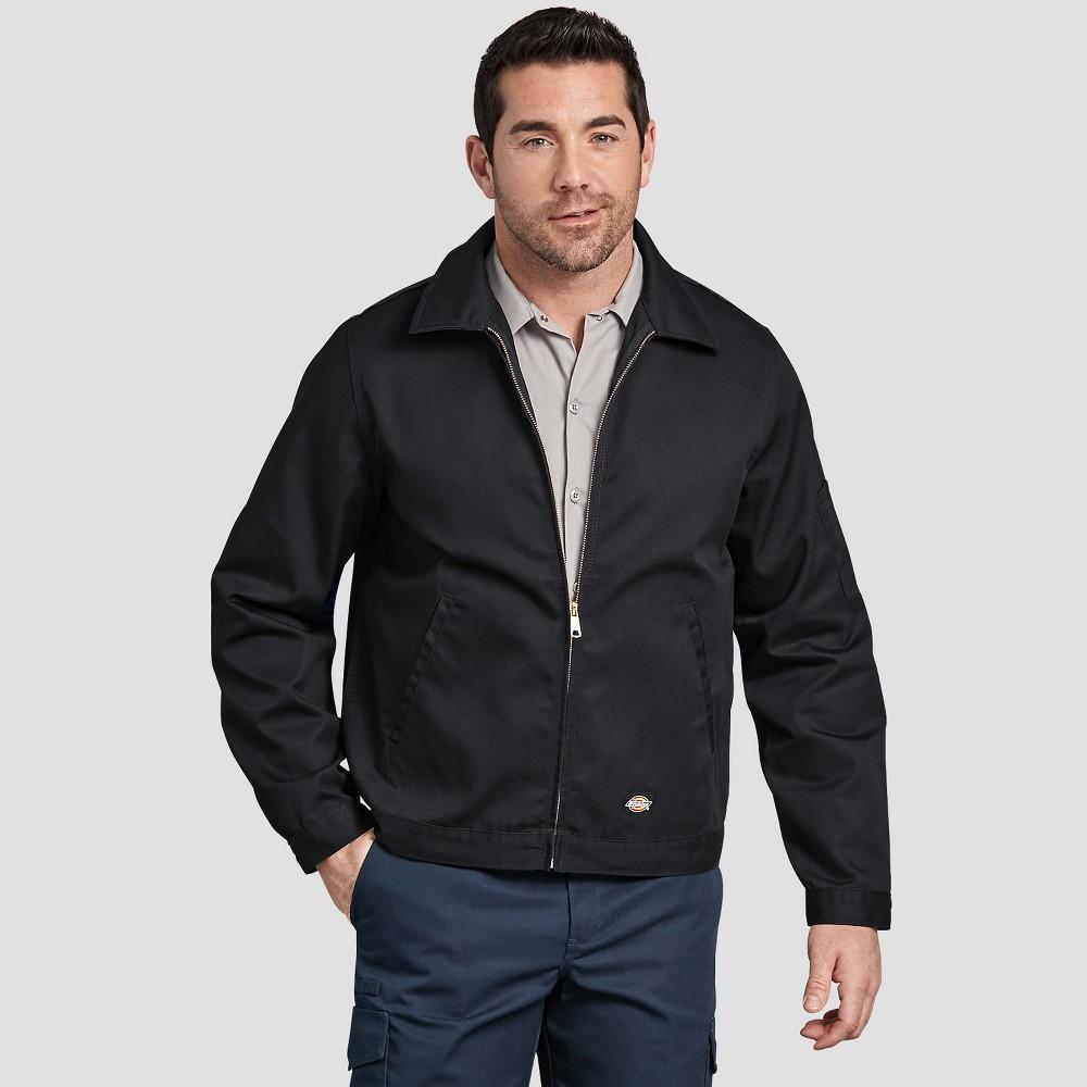 Dickies Men's Big & Tall Long Sleeve Fashion Jackets - Black 5XL