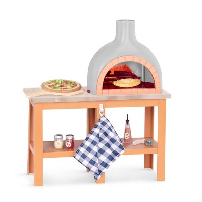 "Our Generation Pizza Maker with Electronics for 18"" Dolls - Pizza Oven Playset"