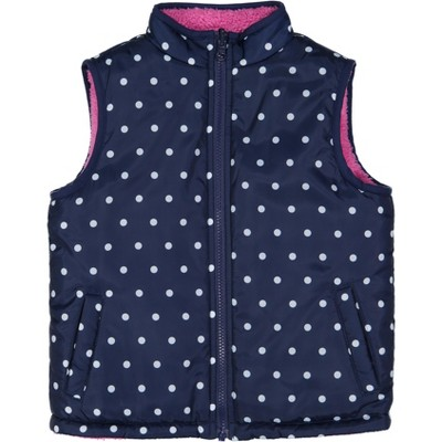 Andy & Evan  Toddler  Reversible Puffer Vest