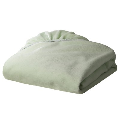 TL Care Heavenly Soft Chenille Fitted Crib Sheet - Green