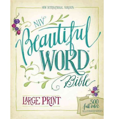 Beautiful Word Bible : New International Version, Ribbon Marker: 500 Full-color Illustrated Verses - image 1 of 1