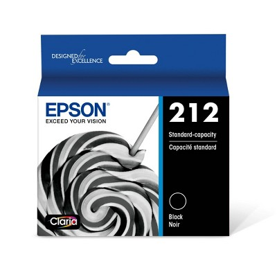 Epson 212 Single Ink Cartridge - Black (T212120-CP)