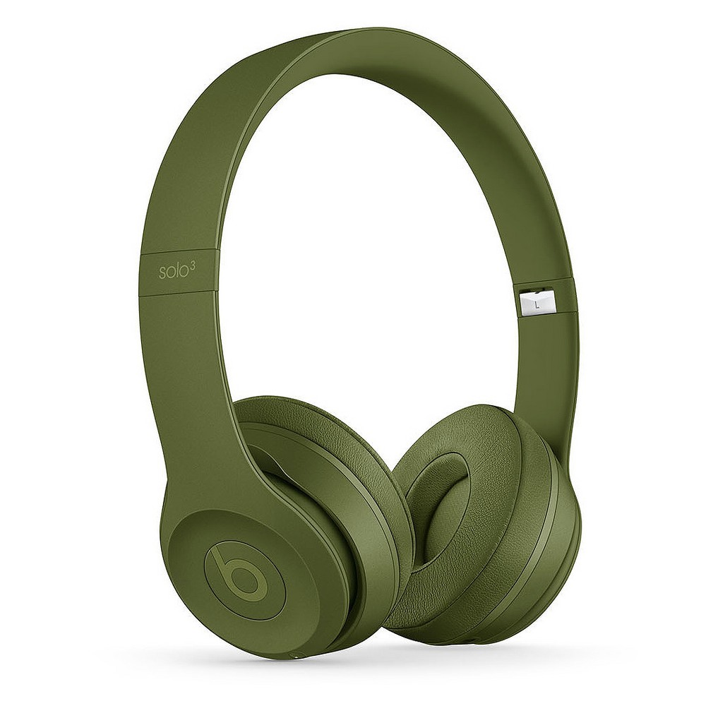 Beats Solo3 Wireless Headphones - Neighborhood Collection - Turf Green