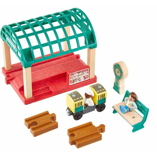Fisher-Price Thomas & Friends Wood Knapford Train Station image number null
