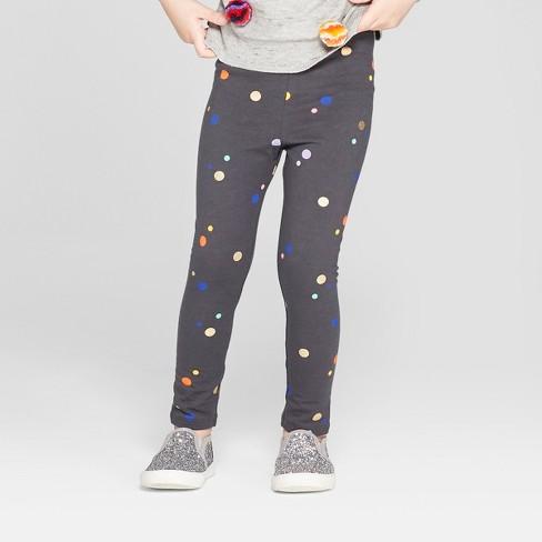 25d604aa0a5ec Toddler Girls' Leggings - Cat & Jack™ Charcoal 3T : Target