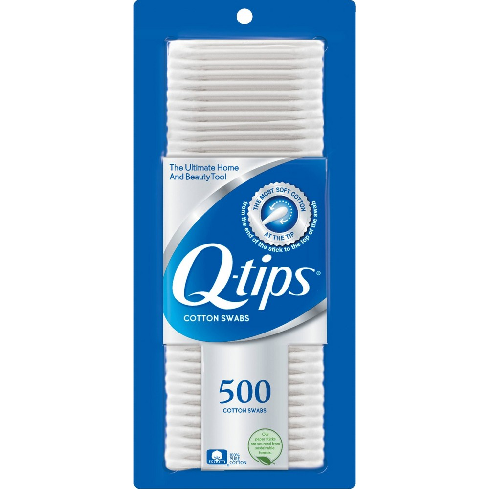 Image of Q-Tips Cotton Swabs - 500ct