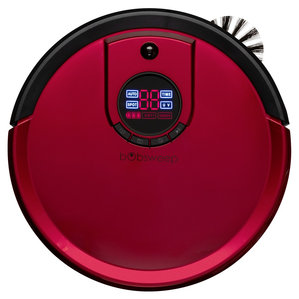 Image of bObsweep Standard Robotic Vacuum Cleaner and Mop - Rouge