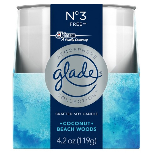 Glade Atmosphere Collection Crafted Soy Candle Air Freshener, No 3 Free, 4.2oz - image 1 of 5