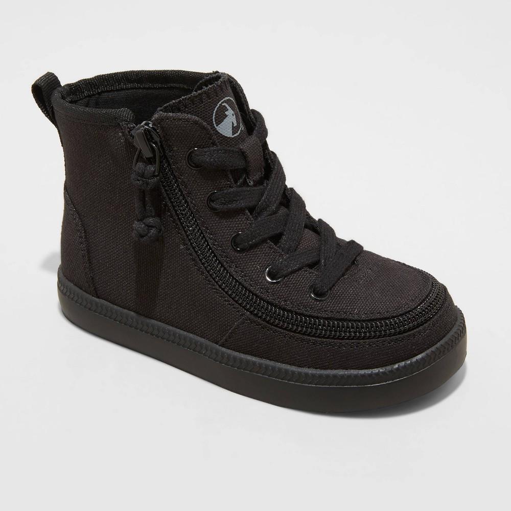 Toddler Billy Footwear Zipper Haring Essential High Top Apparel Sneakers - Black 9