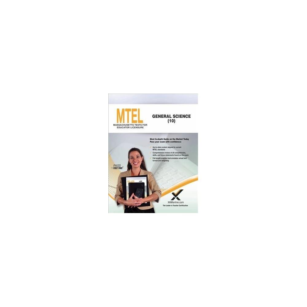 Mtel General Science - 10 - by Sharon A. Wynne (Paperback)