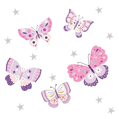 Bedtime Originals Butterfly Kisses Wall Decals