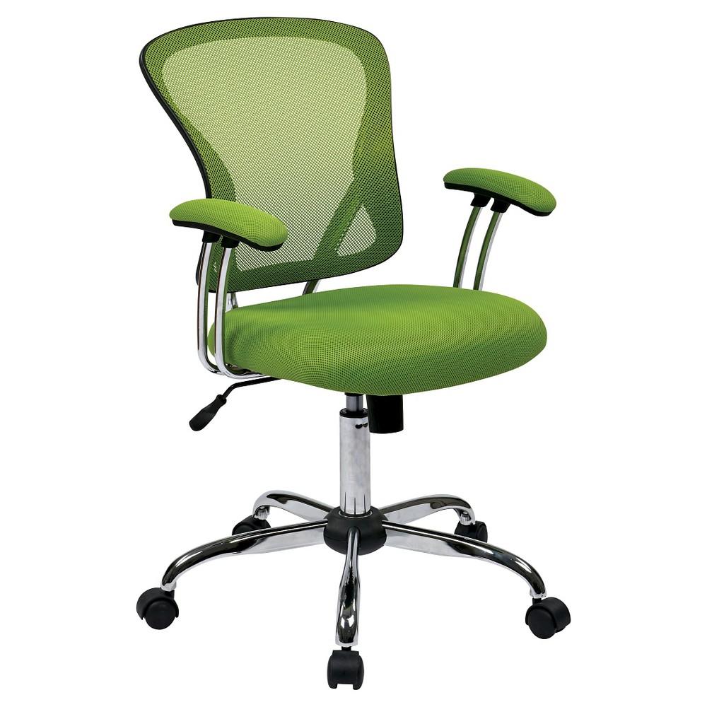 Juliana Task Chair Green Mesh Osp Home Furnishings