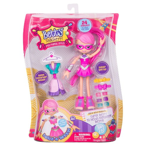 Betty Spaghetty Doll- Super Betty - image 1 of 5