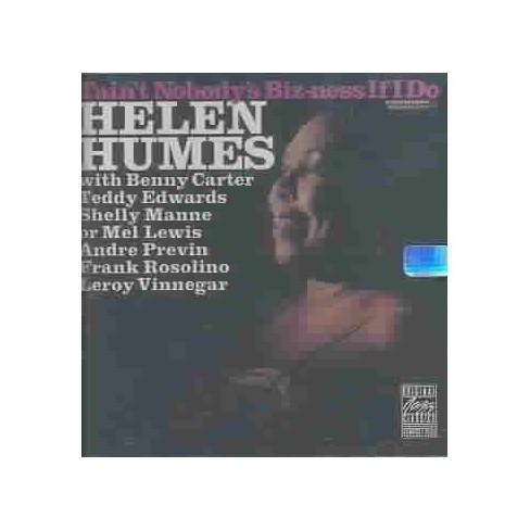 Helen Humes - Taint Nobodys Bizness If i DO (CD) - image 1 of 1