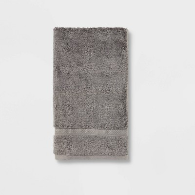 Perfectly Soft Solid Hand Towel Dark Gray - Opalhouse™