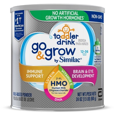 Go & Grow by Similac Toddler Drink Non-GMO Powder - 24oz