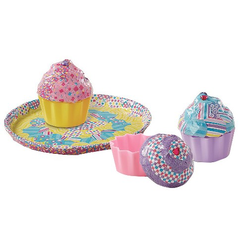 Melissa & Doug Decoupage Made Easy Deluxe Craft Set Cupcakes - image 1 of 4