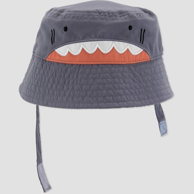 Baby Boys' Shark Hat - Just One You® made by carter's Gray