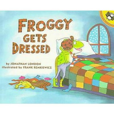 Froggy Gets Dressed (Reprint)(Paperback)(Jonathan London)