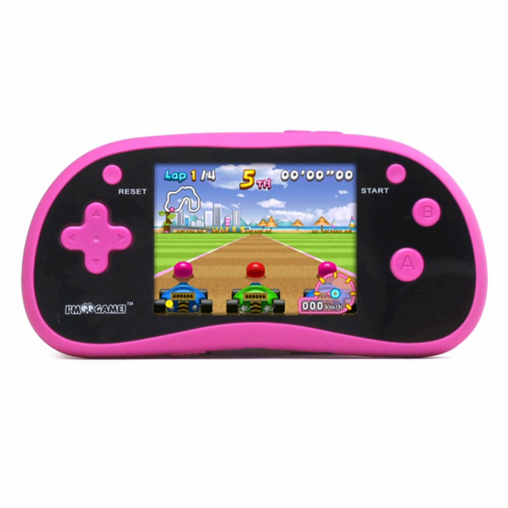 I'm Game GP180 Handheld Game Player - Pink Experience hours of fun with this I'm Game electronic game, perfect for ages 6 years and up. Color: Pink. Gender: Unisex.