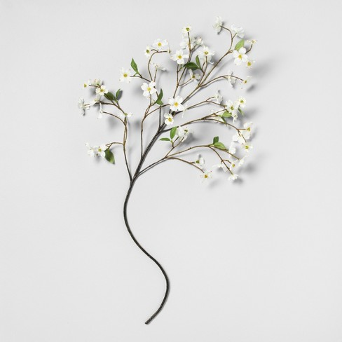 Faux Dogwood Stem - Hearth & Hand™ with Magnolia - image 1 of 2