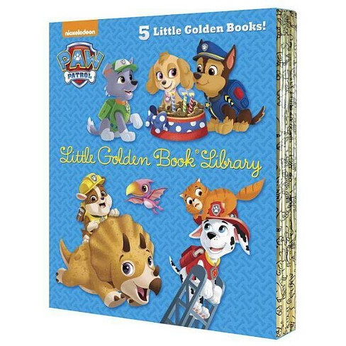 Paw Patrol Little Golden Book Library (Paw Patrol) - (Hardcover) - image 1 of 1